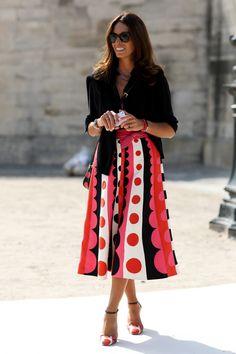 Vivs looking smashing in Valentino. Paris. #VivianaVolpicella