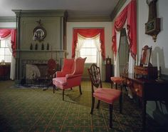 The wall and trim colors of this room at The Metropolitan Museum of Art in New York inspired the color palette of The Fairbanks Inn.  This link is also a great quick overview of the Federal style....
