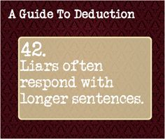 A Guide to Deduction: #42
