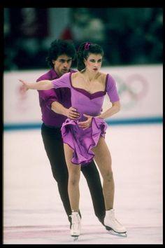 Couples de patinage olympique datant