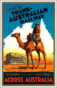 Trans-Australian Railway - loved taking the Indian Pacific from Sydney to Perth.