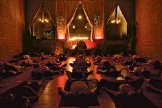 Peace and Quiet 2008 - Free Yoga Classes -- New York Magazine Idea for studio design