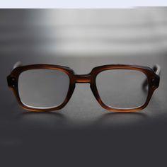 760ff1d201 US Eyeglasses Military Square Rectangle Keyhole Thick Brown Frame RX Prescription  Eyewear Sunglasses Men Women Combat Birth Control Glasses