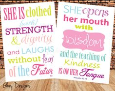 INSTANT DOWNLOAD Scripture Art bible verse by glorydesigns on Etsy, $9.00
