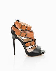 Brenda Buckle Heels