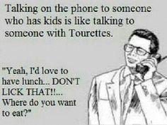 Kids & tourettes
