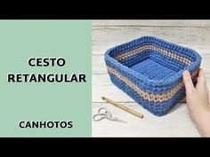Crochet Bag Tutorials, Crochet Crafts, Thick Thread, Knit Basket, Affordable Home Decor, Knitting Yarn, Home Accessories, Diy Home Decor, Diy Projects