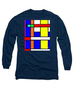 Long Sleeve T-Shirt - Geometric 9706
