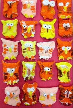 More crayola model magic clay owl-1st grade-Art with Mr. Giannetto blog