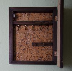 ręcznie wykonana skrzynka na klucze,handmade key box