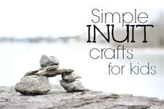 Simple Inuit Crafts for Kids from @Valerie at Inner Child Fun