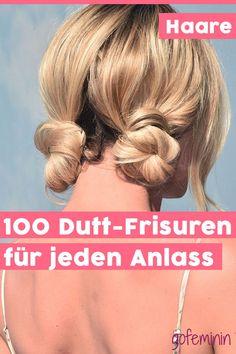 Diese Dutt-Frisuren passen einfach immer! #duttfrisur #bun #doublebun #halfbun