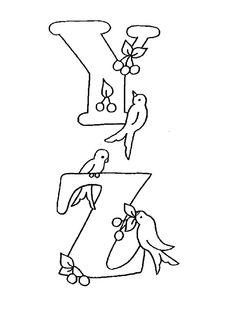 Lernübungen für kinder zu drucken. Infant Alphabete 33