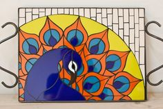 EL ARTE DEL MOSAICO Mosaic Tray, Mosaic Animals, Mosaic Patterns, Stained Glass Windows, Ceramic Art, Coasters, Birds, Ceramics, Disney Characters