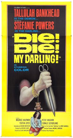 Die! Die! My Darling! (aka Fanatic) (1965, UK)