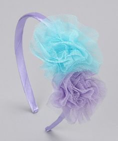 tulle headband -- a DIY Tulle Headband, Tulle Bows, Ear Headbands, Ribbon Bows, Tulle Projects, Tulle Crafts, Fun Projects, Pochette Diy, Hair Beads