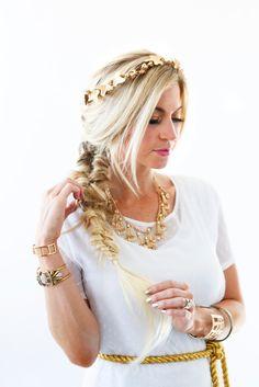 Grecian Goddess Costume Tutorial