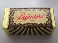 Bajadera .... delicious, creamy cubes of chocolate ... to this day, these are my all time favorite!!!!!