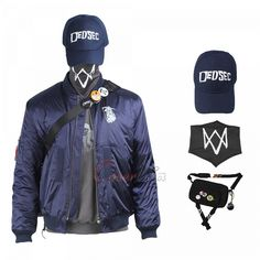 Item Number:gmwad003, Marcus Holloway Costume Watch Dogs 2 Cosplay online sale! Get cheap D-C and Mar-vel costumes from cosercos.com Game Costumes, Mephisto, Cosplay Dress, Womens Size Chart, Online Sales, Long Toes, Item Number, Dog Tags, Motorcycle Jacket