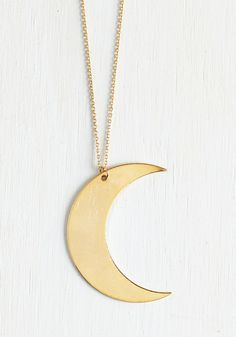 Crescents of Style Necklace