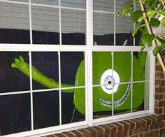 monsters inc halloween decorations