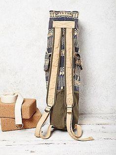 Gifts for Yoga Lovers: Free People Cobra Yoga Bag