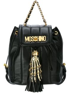 MOSCHINO Skeleton Hand Backpack. - Cris Figueired♥