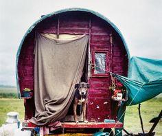 Burningman gypsy wagon
