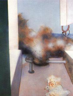 Francis Bacon, Sand Dune, 1981.  Art Experience NYC  www.artexperiencenyc.com/social_login/?utm_source=pinterest_medium=pins_content=pinterest_pins_campaign=pinterest_initial