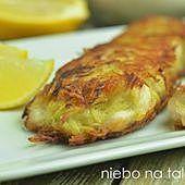 Ryba w panierce z tartych ziemniaków
