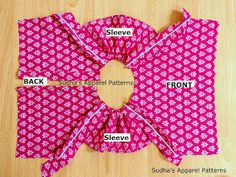 Sudha's Apparel Patterns: Flutter sleeve Romper - sewing tutorial & FREE pattern (PART-2) Sewing Patterns For Kids, Dress Sewing Patterns, Clothing Patterns, Doll Clothes Patterns, Sewing Kids Clothes, Baby Sewing, Diy Clothes, Girls Frock Design, Baby Girl Dress Patterns