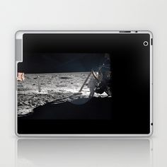 Neil Armstrong Laptop & iPad Skin by Planet Prints - $25.00
