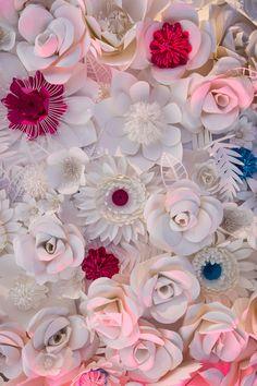 iSparkleEvents.com   Paper Flower Centerpiece   Event Design & Planning   240.242.5415