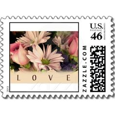 Vintage Love Postage Stamps  Repinned by Annie @ www.perfectpostage.com