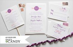 DIY Wedding Freebies?! For invitations?! PINCH ME! This has GOT to be a dream!