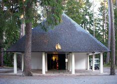 Skogskapellet cemetery chapel, Stockholm - Gunnar Asplund