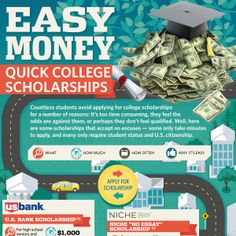 There is a cost to spend for these scholarships however lots of discover that rate supplies valuable experience and is well worth the education and the experience received throughout the process. Grants For College, Financial Aid For College, College Planning, Online College, How To Find Scholarships, Nursing School Scholarships, Nursing Schools, College Books, College Quotes