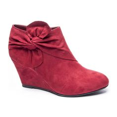 CL by Laundry Vivid Suede Wedge Bootie | Chinese Laundry