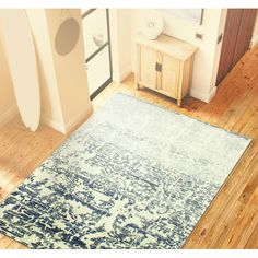 Found it at Wayfair - Arlingham Ivory/Blue Area Rug