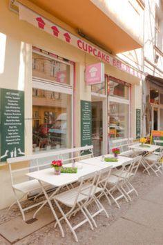 Cupcake Berlin   Café, Krossener Str. 12, open daily from 12:00 - 20:00, S Ostkreuz/U Warschauer Straße #vegfriendly #cupcakes #Berlin