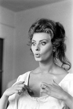 Sophia Loren © Alfred Eisenstaedt