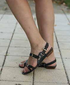 uterque blue sandals
