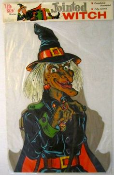 Vintage Beistle Halloween Life sized Jointed Witch made in the early halloween caldron Halloween Magic, Halloween Horror, Holidays Halloween, Happy Halloween, Halloween Ideas, Vintage Halloween Photos, Vintage Halloween Decorations, Fall Decorations, Vintage Photos