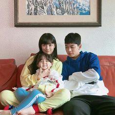 Ulzzang Kids, Ulzzang Couple, Cute Couple Art, Cute Couples, Teen Web, Web Drama, Cute Family, Family Pics, Asian Kids