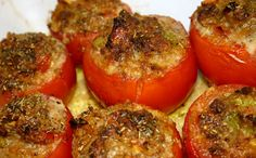 Stuffed Tomatoes with Ground Meat