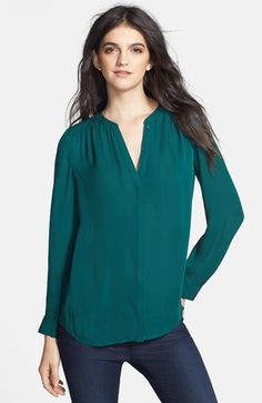Joie 'Marice' Silk Blouse available at #Nordstrom