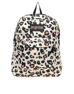 Jansport, Superbreak Backpack with Cheetah Print, $73