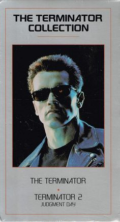 The Terminator Collection VHS 2 Tape Set Sealed  Terminator Terminator 2 1995