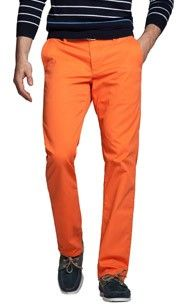 I admit, I really want to try some orange pants.  I'm serious!  #Bonobos #Oranginos
