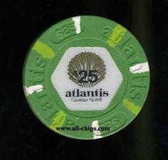 $25 Atlantis 1st issue Flat Inlay